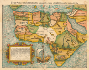 Maps of Africa through the centuries | South African History Online