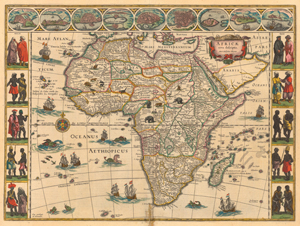 First Accurate Map Of The World.Maps Of Africa Through The Centuries South African History Online
