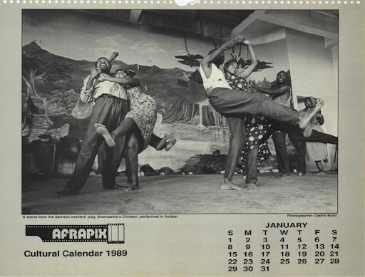 Afrapix Cultural Calendar 1989