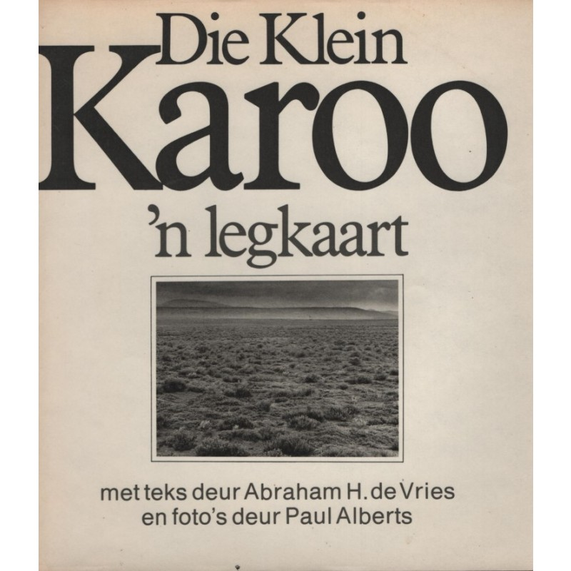 Die Klein Karoo 'n Legkaart (1977)
