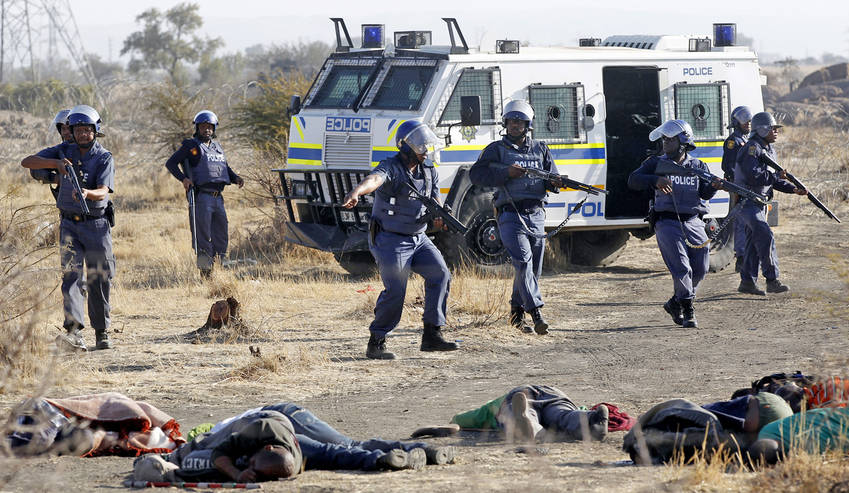 Image result for marikana massacre