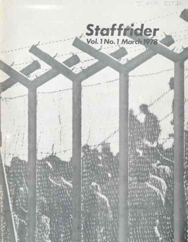 Staffrider Magazine (1978)