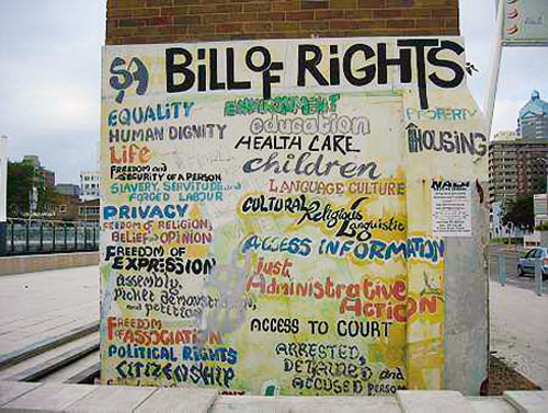 The Bill of Rights | South African History Online