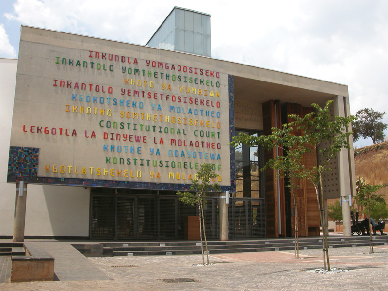 The constitutional court was established in 1994 by south africa s