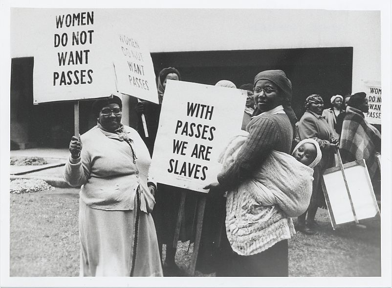 The 1956 Women's March, Pretoria, 9 August | South African History ...