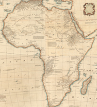 Map Of Africa In 1800.Maps Of Africa Through The Centuries South African History