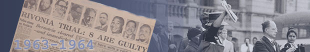 Rivonia Trial 1963-1964 banner