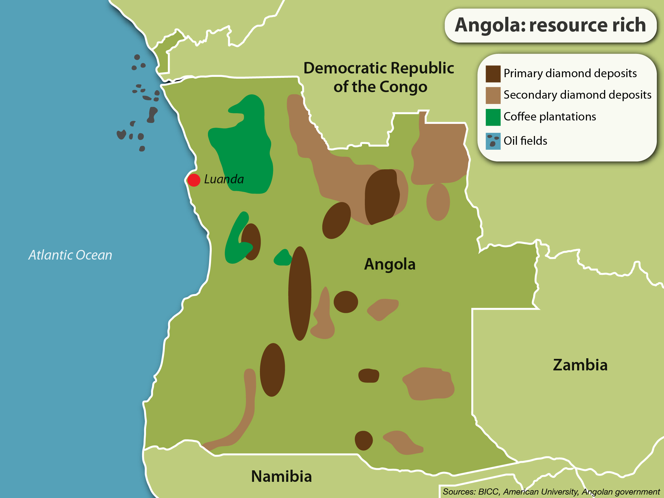 Resultado de imagen de CONGO AND ANGOLA FIGHT FOR OIL