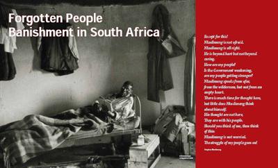 The Forgotten People: Banishment under Apartheid