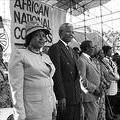 1991 ANC Conference,Winnie and Nelson Mandela