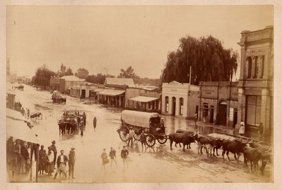 Pretoria in the 1890's. Martin Plaut collection