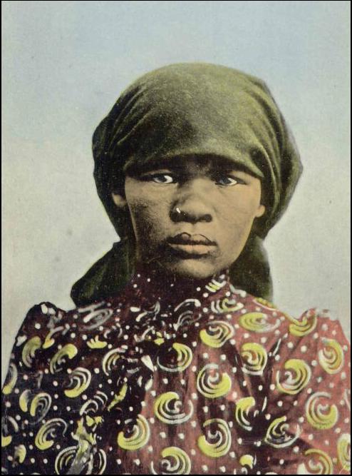 Khoi Khoi woman