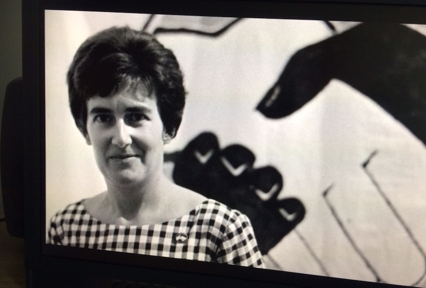 Anti-apartheid activist Adelaine Hain in Pretoria 1963