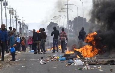 Image result for violent south african riots