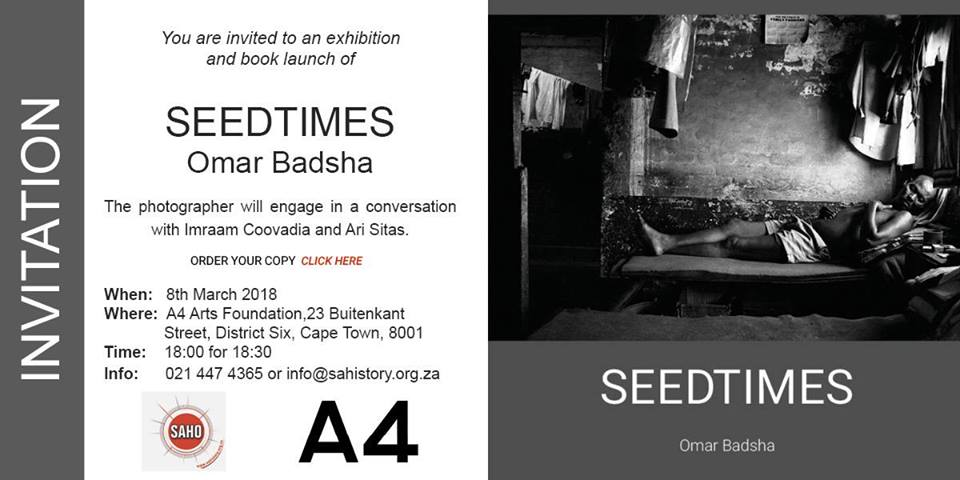 Seedtimes Exhibition and Book Launch