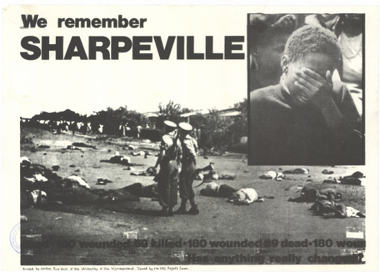 the events of the sharpeville massacre of march 21 1960 The sharpeville massacre was an event which occurred on 21 march 1960, at the police station in the south african township of sharpeville in transvaal (today part of gauteng) after a day of demonstrations against pass laws, a crowd of about 5,000 to 7,000 protesters went to the police station.
