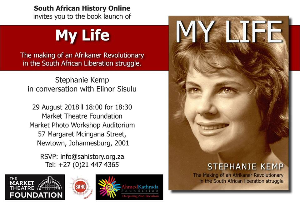 My Life: The making of an Afrikaner Revolutionary in the South African Liberation Struggle