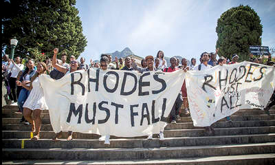 Image result for violent student riots at universities in south africa