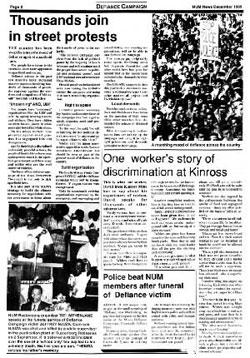 The Defiance Campaign 1989 South African History Online