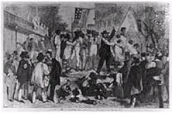 What are the long term historical repercussions of avoiding the slavery issue?