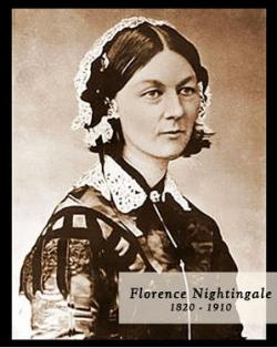 Florence Nightingale, British nurse in the Crimean War, is born ...
