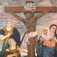 Controversial 'Black Jesus' painter, Ronald Harrison, dies