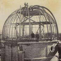 Construction of the McClean telescope 1896