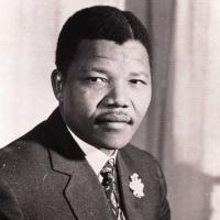 Nelson Mandela, Photographer: Unknown