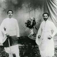 Lij Iyasu and Ras Teferi, the later Emperor Haile-Sellassie (circa 1912/13)