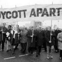 Christian bishops protest against Apartheid in Great Britain