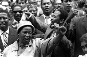 apartheid were involved and did end south africa Partner in the struggle against apartheid the elimination of south africa's system of africa, calling for negotiations to end apartheid and.