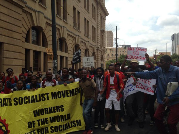 Student Protests At Tshwane University Of Technology